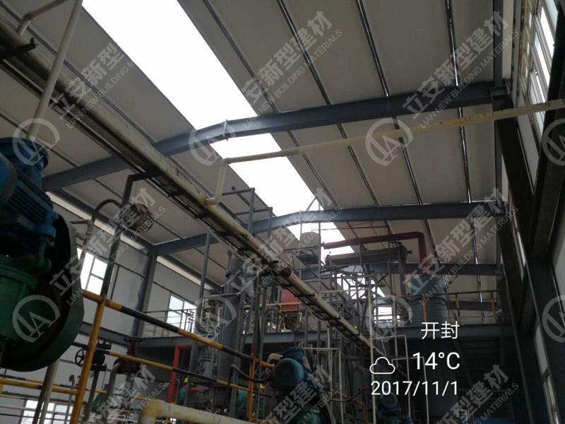 发泡水泥板施工工艺_钢框轻型屋面板-钢框保温轻型板-立安新型建材公司